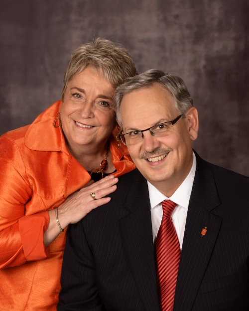 Bishop Bruce & Char Ough Scholarship Endowment honors couple.