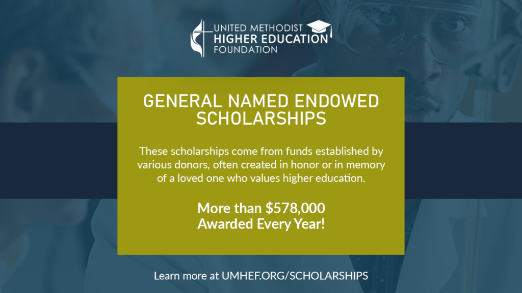 General Named Endowed Scholarships Program