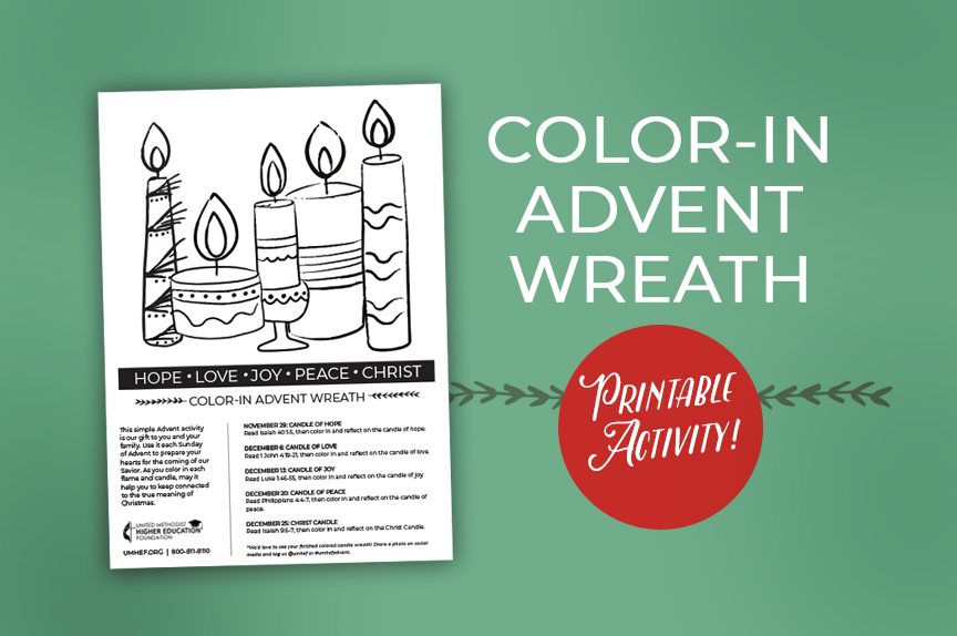 Free Advent Activity from UMHEF